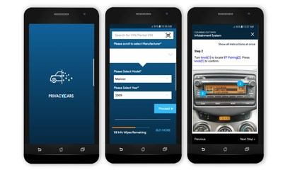 PRIVACY4CARS APP LAUNCHES TO HELP PROTECT PRIVACY OF VEHICLE USERS