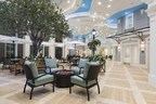 Market Street Memory Care Residence Palm Coast offers an extraordinary central gathering space coined 'Market Plaza' with an Art Gallery, Bakery, Salon and Spa, Newsstand and Post Office caringly designed to welcome family and friends.
