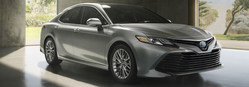 The 2018 Toyota Camry is available now at Allan Nott Toyota.