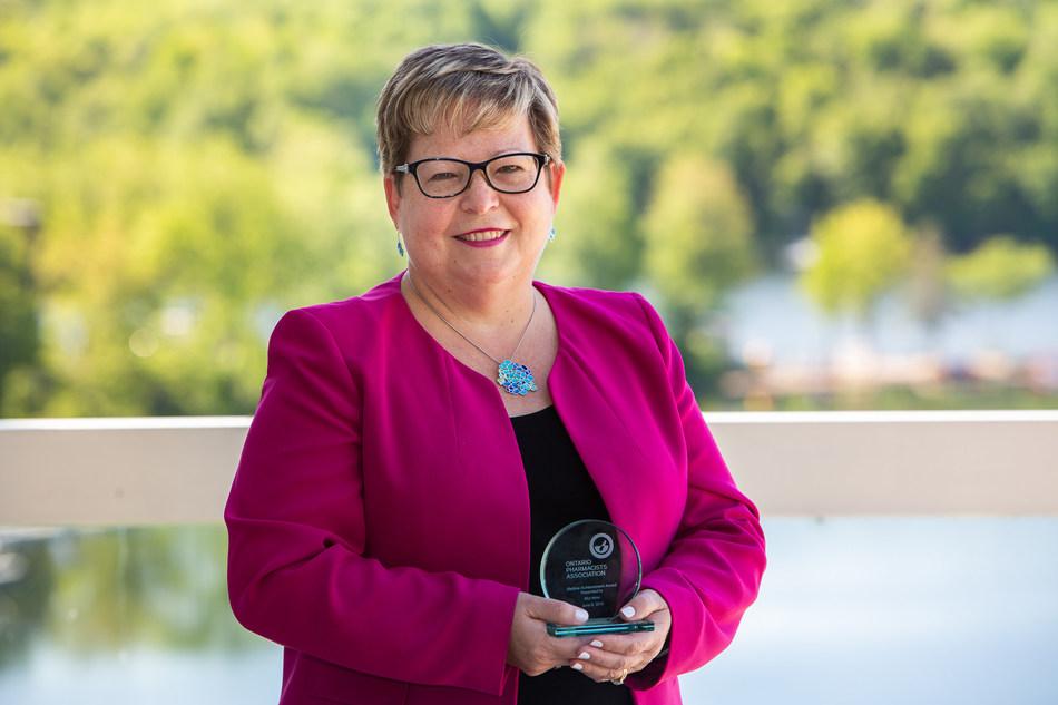 Rita Winn, Lifetime Achievement (CNW Group/Ontario Pharmacists Association)