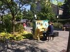 Initiés en 2012 dans Le Plateau, les pianos publics de Montréal sont de retour. (Groupe CNW/Ville de Montréal - Arrondissement du Plateau-Mont-Royal)