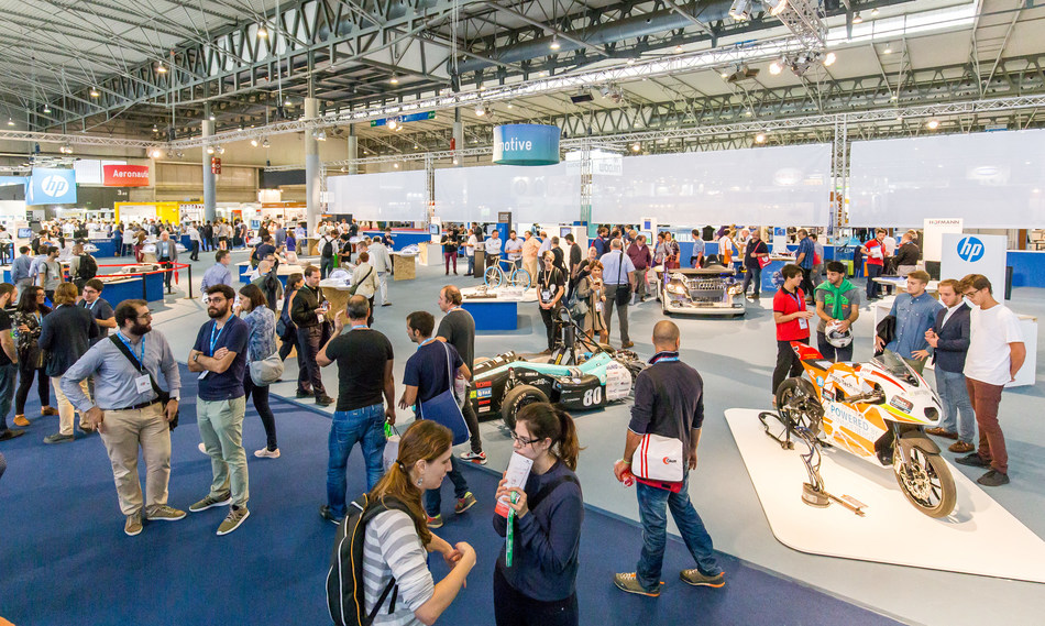 Siemens, Lufthansa and the pharmaceutical giant Glaxo will exhibit their latest 3D applications at IN(3D)USTRY (PRNewsfoto/Fira de Barcelona)