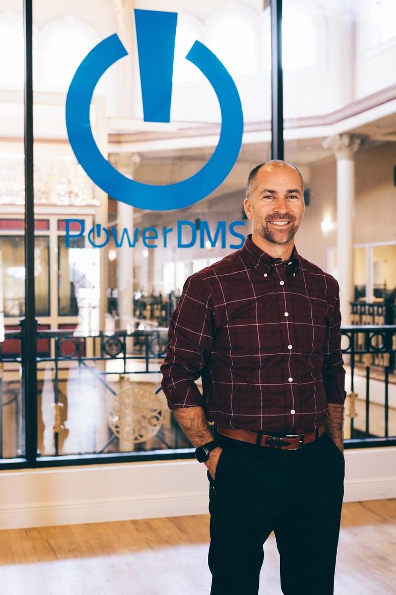 David DiGiacomo joins PowerDMS as chief executive officer.