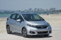 Recent college graduates can receive $500 towards a new Honda vehicle like the Honda Fit, pictured here.
