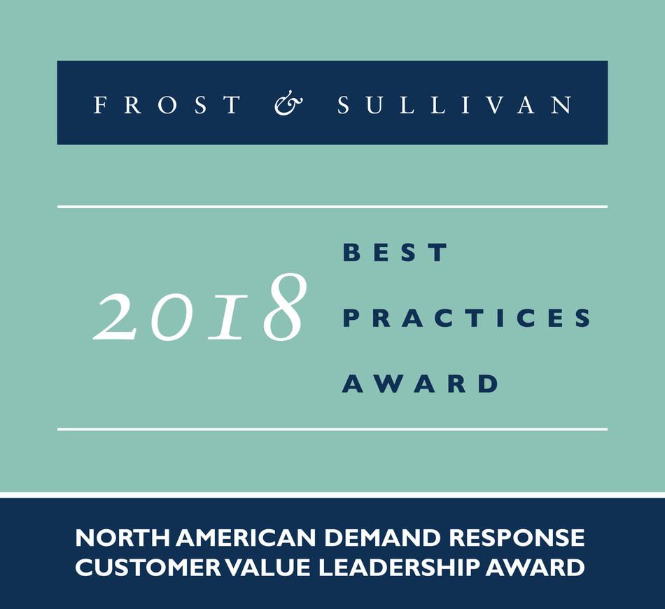 2018 North American Demand Response Customer Value Leadership Award