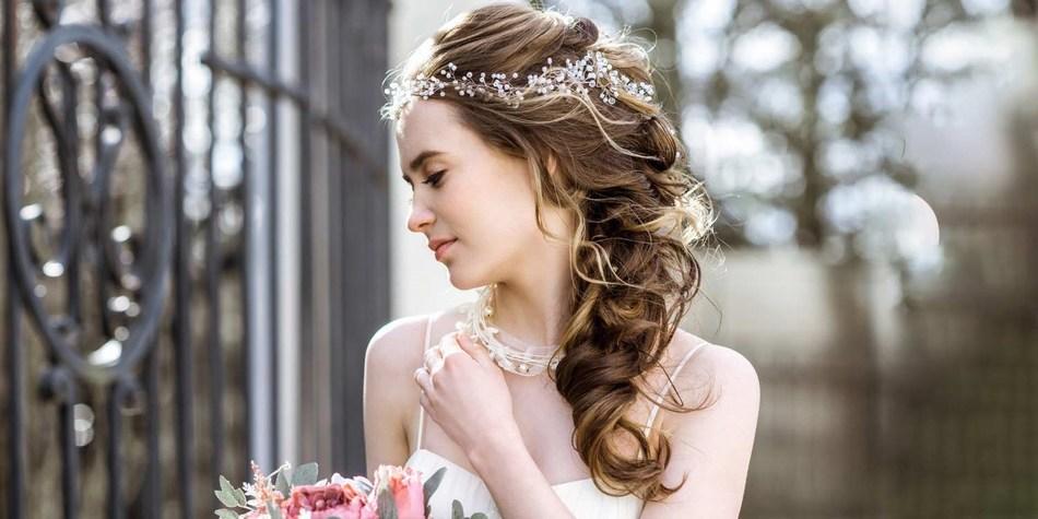 Deconstructed Braids Wedding Hairstyle