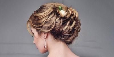 Flower Hair Embellishments Wedding Hairstyle