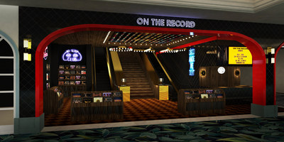 Los Angeles-based Houston Hospitality will redefine the Las Vegas Strip's nightlife landscape with the Dec. 31, 2018 opening of On The Record at Park MGM. (PRNewsfoto/Park MGM)