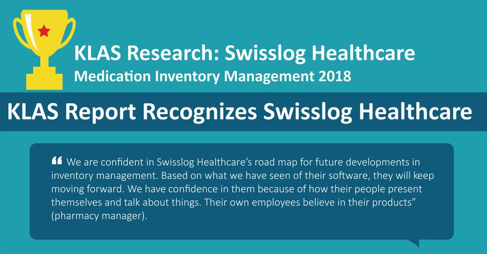 New KLAS Report Recognizes Swisslog Healthcare for Medication Inventory Management Software