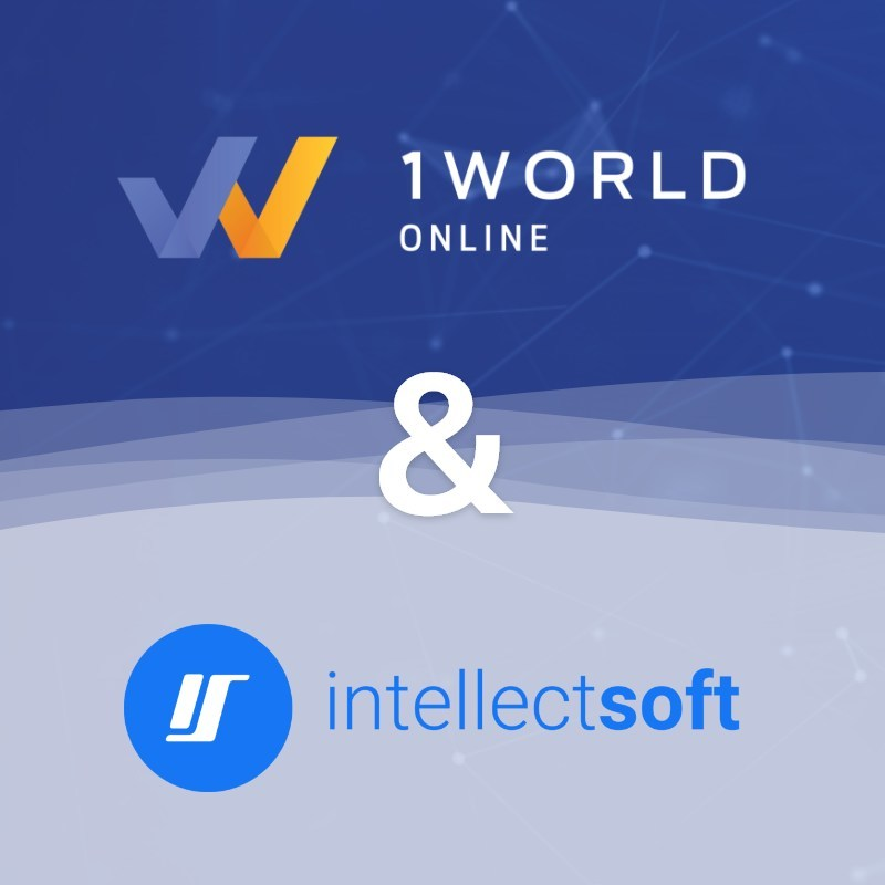 1World Online and Intellectsoft Announce Partnership