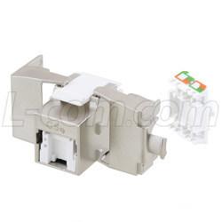 符合PoE+標準的免工具RJ45插座