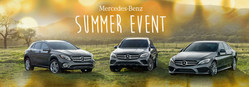 The Mercedes-Benz Summer Event is happening now through July 2nd.