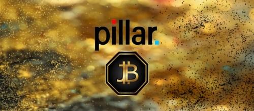 Pillar & Jinbi (PRNewsfoto/Jinbi Token)