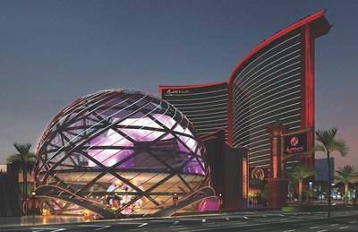 The $4 billion, 3,000-room Resorts World is currently being built on the Las Vegas strip led by Malaysia-based Genting Group.