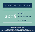 Oracle Health Sciences Earns Frost & Sullivan's Enabling Technology Leadership Award for its eClinical Platform, Clinical One