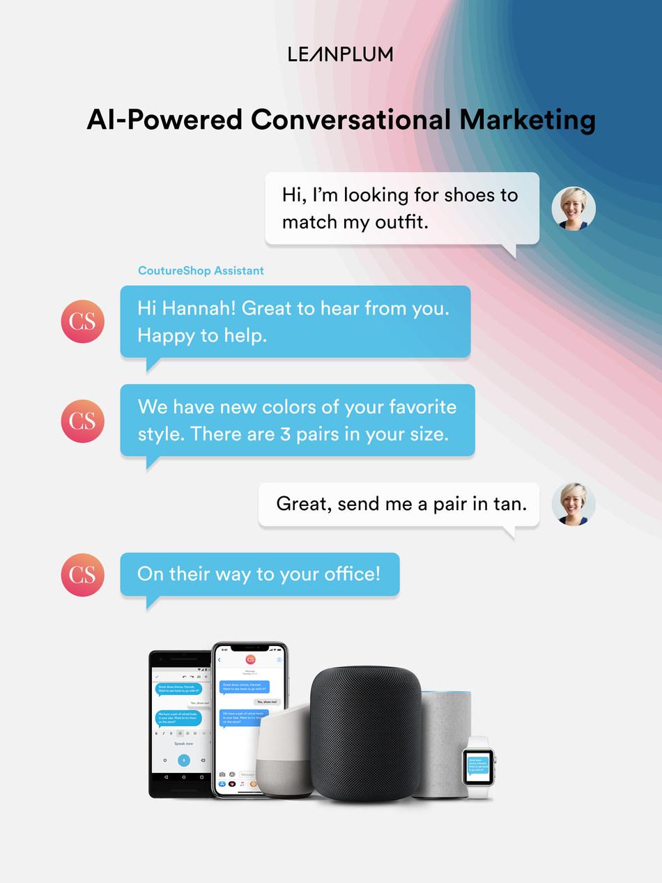 AI-powered conversational marketing, from Leanplum