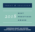 FLONIDAN Earns Accolades from Frost & Sullivan for its Customised Smart Gas Meters for the European Market