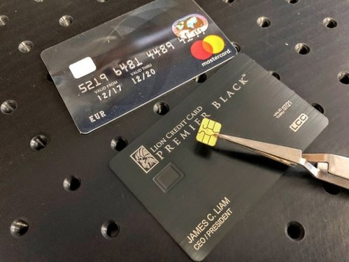 Lion Credit Card Patent Pending Technology