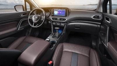 O novo Qiyun GS4 vem equipado com sistema inteligente de conexão AVNT (PRNewsfoto/GAC Motor)