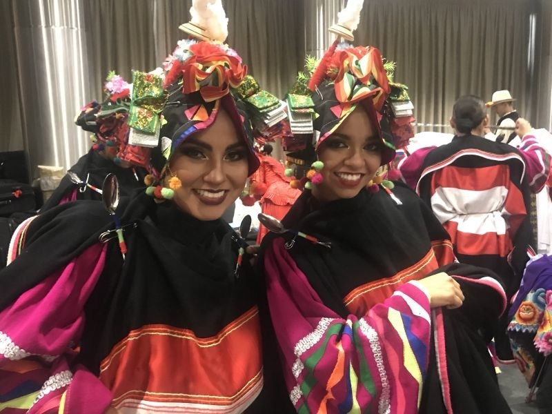 Traditional costumes from Peru, traditions and cultured showcased at Casa Peru I Moscow (PRNewsfoto/PROMPERÚ)