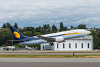 First delivery of 737 MAX to Jet Airways.