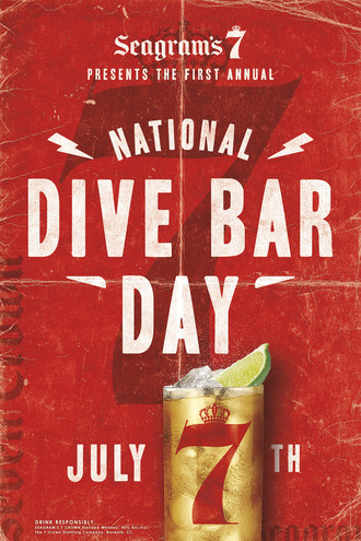 Seagram's 7 Crown Launches The Inaugural National Dive Bar Day, Honoring Local Watering Holes Everywhere