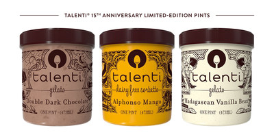 Talenti 15th Anniversary Limited-Edition Pints