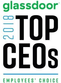 Glassdoor Top CEOs 2018 (PRNewsfoto/Glassdoor)