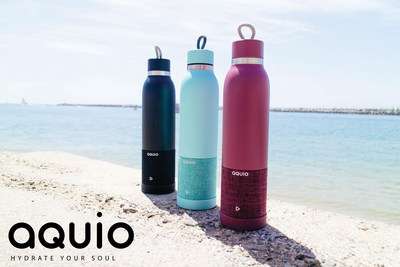 Aquio Powered by iHome Combines Hydration with Premium Sound into One Stylish Bottle