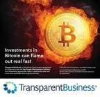 TransparentBusiness Ad Focuses on Bitcoin Implosion
