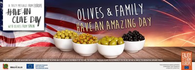 Have an Olive Day Launches New Recipes to add to the 4th of July celebrations.