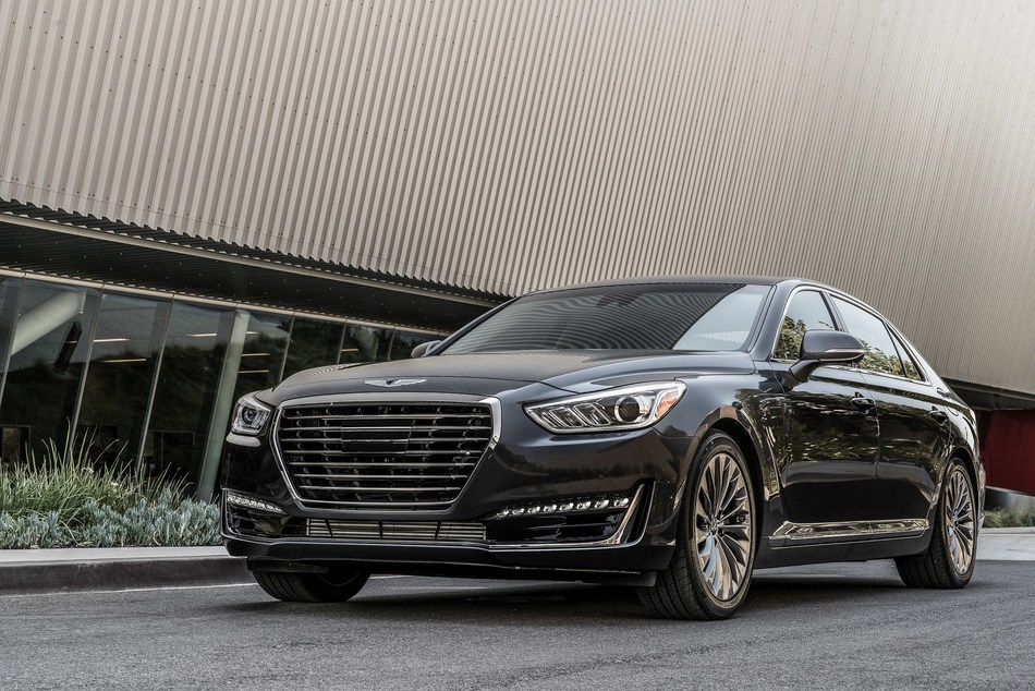The 2018 Genesis G90 earned the top rank for initial quality in the Large Premium Car segment. (CNW Group/Genesis Motors Canada)