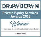 FundCount Named Best Accounting and Reporting Software at the Drawdown's Private Equity Services Awards