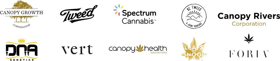 From our family of companies and brands, here's to the next chapter of growth. (CNW Group/Canopy Growth Corporation)