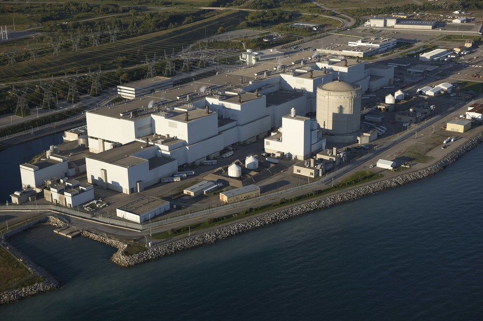 OPG's Darlington Nuclear Station (CNW Group/Ontario Power Generation Inc.)