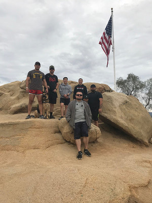 Wounded Warrior Project® (WWP) recently gave injured veterans the opportunity to experience the healing powers of nature and camaraderie during a relaxed hike.
