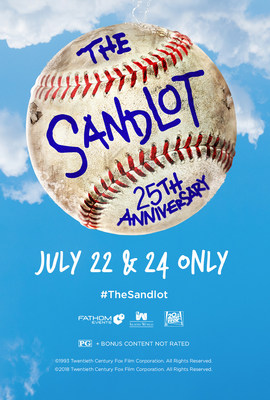 The Sandlot 25th Anniversary