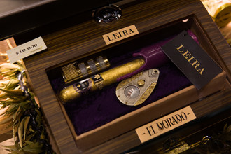 "Diego Pellicer – Washington introduces ""El Dorado:"" The world's Only $10,000, 24-karat gold cannabis cigar"