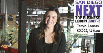 UE.co COO Taryn Lomas a Finalist for San Diego Next Top Business Leaders Under 40