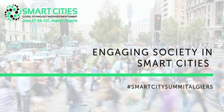 The Smart Cities Global Technology & Investment Summit - Why citizens must drive smart city transformation (PRNewsfoto/Smart City Algiers)