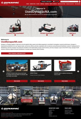 Machinery Trader Launches Used Equipment Website for Dynapac North America