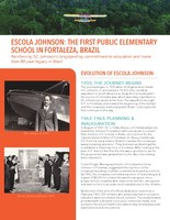 SC Johnson Donation Supports First-of-its-kind Sustainable School in Fortaleza, Brazil