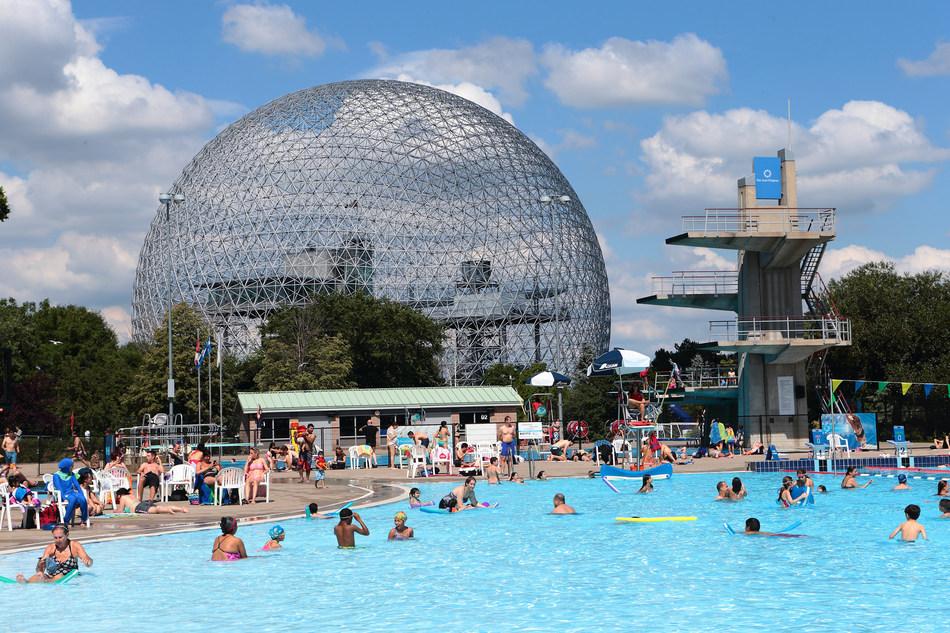 Parc Jean-Drapeau's Aquatic Complex (CNW Group/SOCIETE DU PARC JEAN-DRAPEAU)