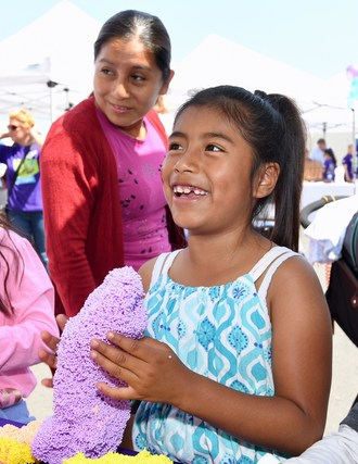 Toy industry volunteers hosted a fun-filled day of play for 200 LA-area children facing poverty, homelessness, abuse, and neglect.