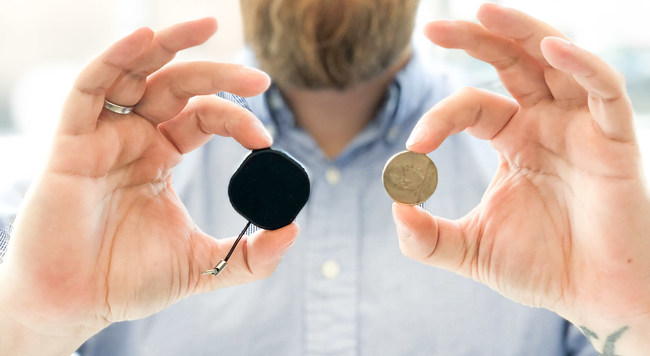 Worlds smallest GPS tracker with global range