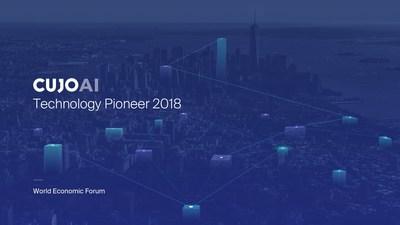 CUJO AI Technology Pioneer 2018