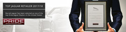 Luxury car buyers in the San Antonio area who are in search of an award-winning experience will find what they are looking for at Barrett Jaguar - a top three Jaguar dealership in the United States.