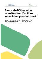 Déclaration d'Edmonton (Groupe CNW/Ville de Montréal - Cabinet de la mairesse et du comité exécutif)