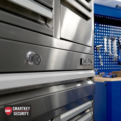SmartKey Security is now available in select Kobalt Tool Chests, providing ultimate convenience for homeowners and trade professionals.
