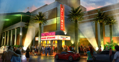 LIVE NATION UNVEILS PLANS FOR THE FILLMORE AT HARRAH'S NEW ORLEANS SETTING NEW STANDARD FOR SOUTHEASTERN UNITED STATES MUSIC CLUBS